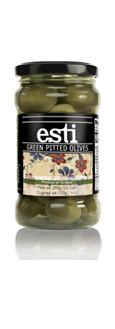 esti Green pitted Olives